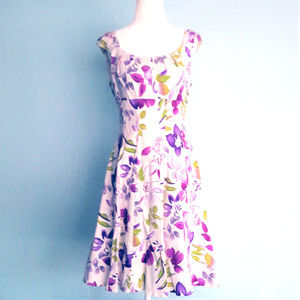 LONDON TIMES 1950s style retro dress, sz 10 fits 8